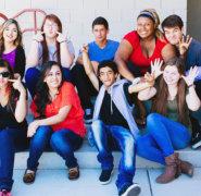 Students at Edge High School